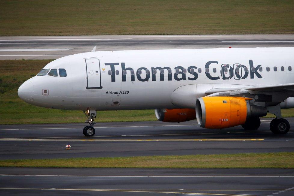 Cestovní kancelář Thomas Cook zkrachovala.