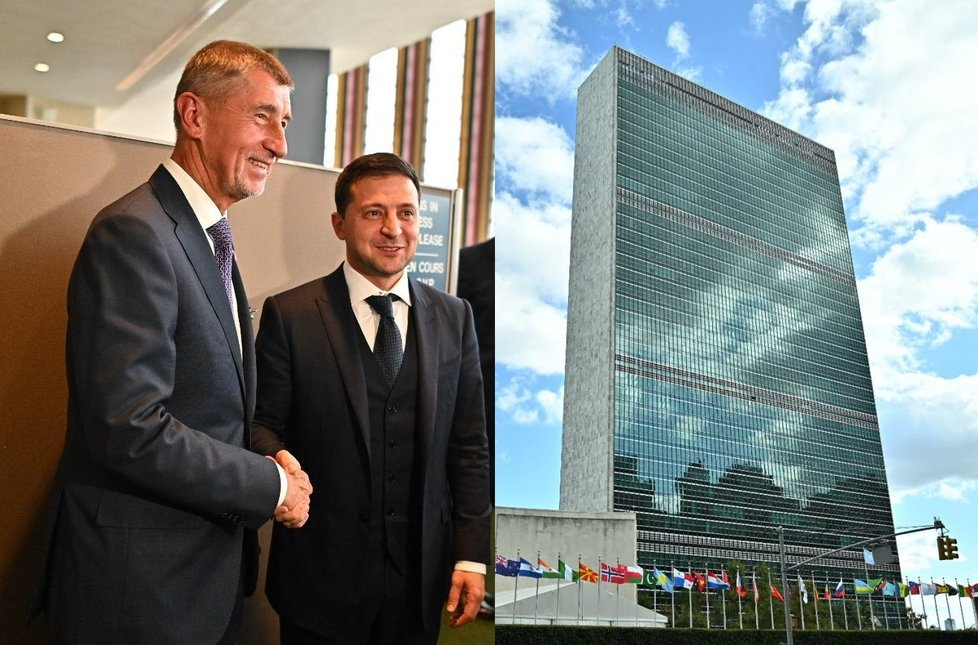 Český premiér Andrej Babiš pozval ukrajinského prezidenta Volodymyra Zelenského do Prahy