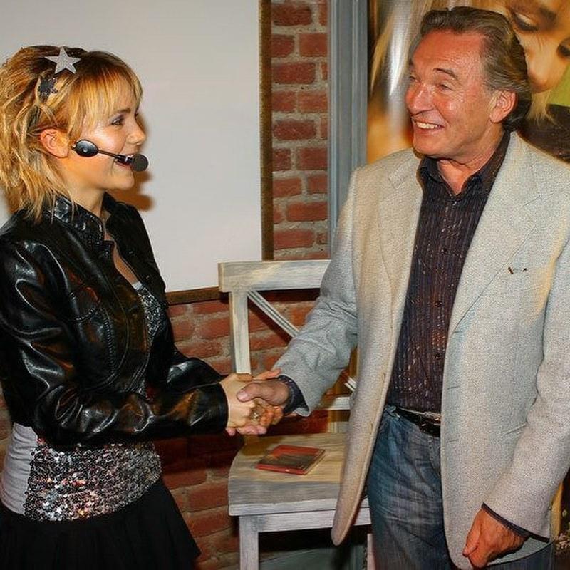 Lucie Vondráčková a Karel Gott