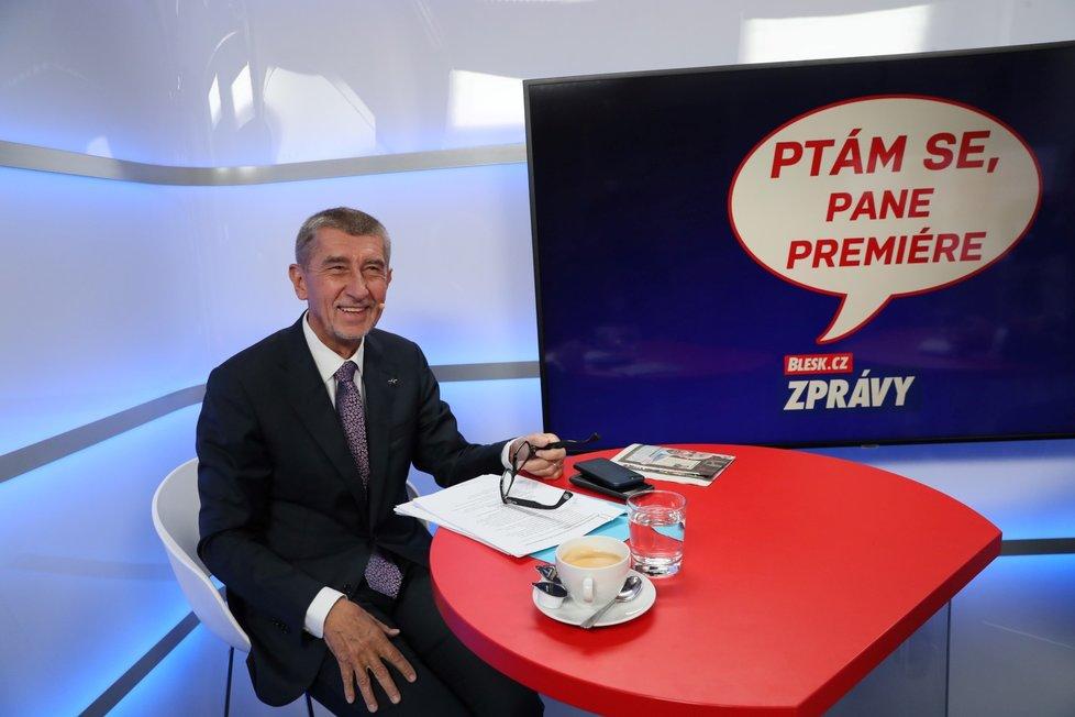 Premiér Andrej Babiš ve studium Blesku