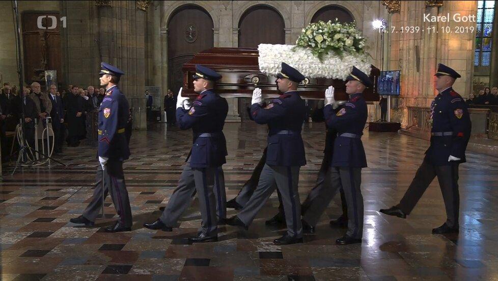 Pohřeb Karla Gotta