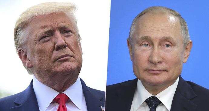Putin prý trumpovi nic nevyčítá, na Twitteru ho ale sledovat nebude