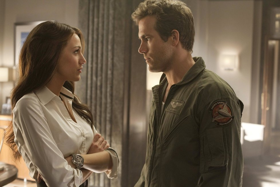 Ryan Reynolds a Blake Lively ve filmu Green Lantern