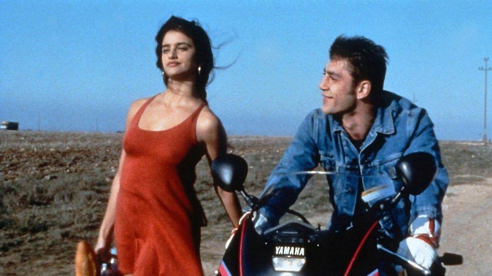 Javier Bardem a Penélope Cruz ve filmu Jamón