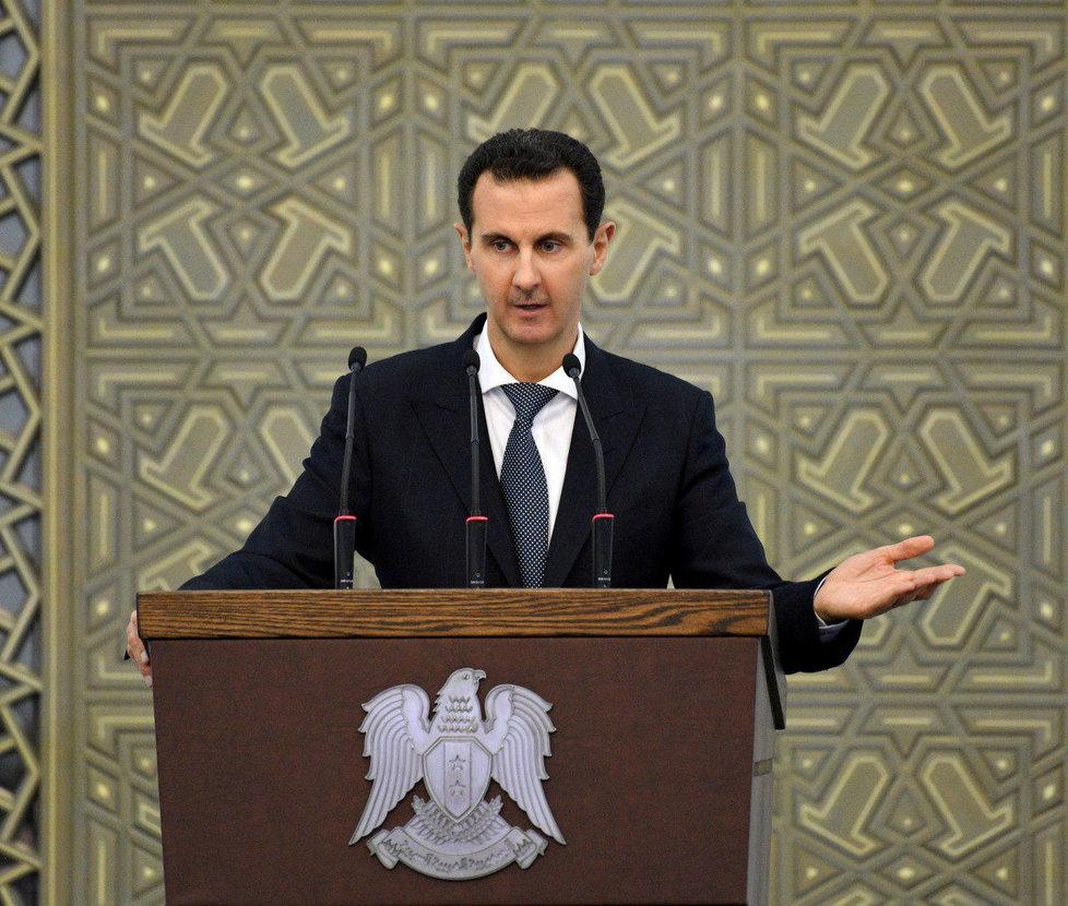 Syrský prezident Bašár Asad.