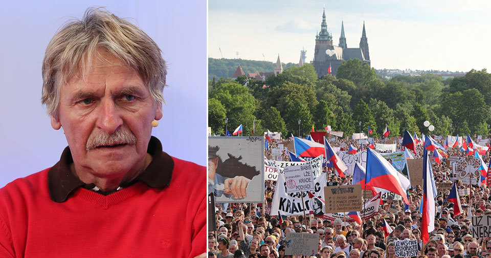 Petr Josek z Czech Press Photo o fotografii z demonstrace proti Andreji Babišovi