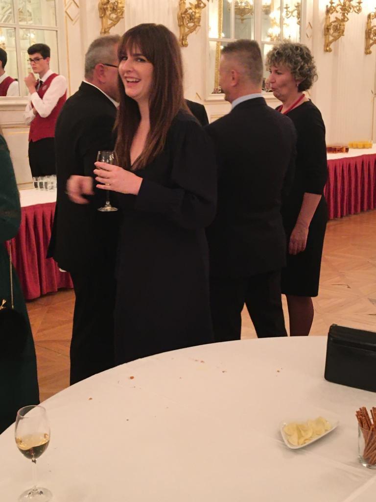 Recepce po udílení státních vyznamenání 2019: Kateřina Zemanová
