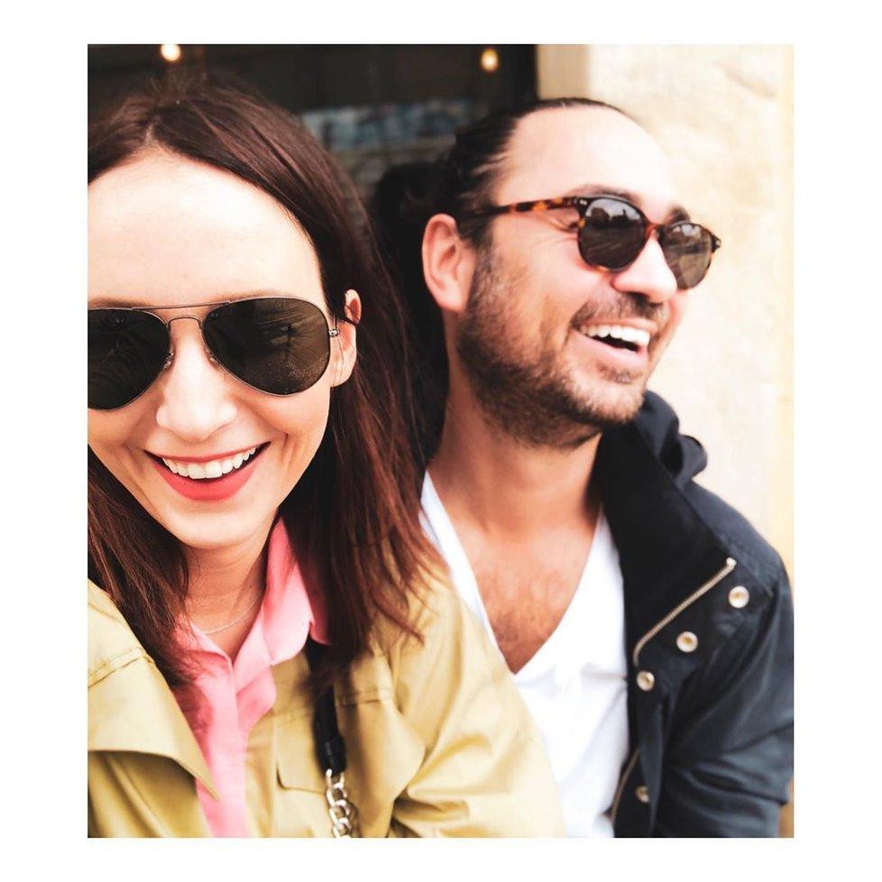 Veronika s manželem Biserem jsou krásný pár