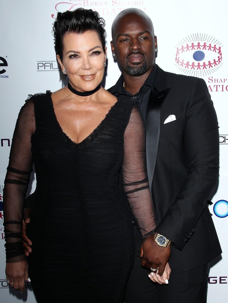 Kris Jenner se svým přítelem Corey Gamblem