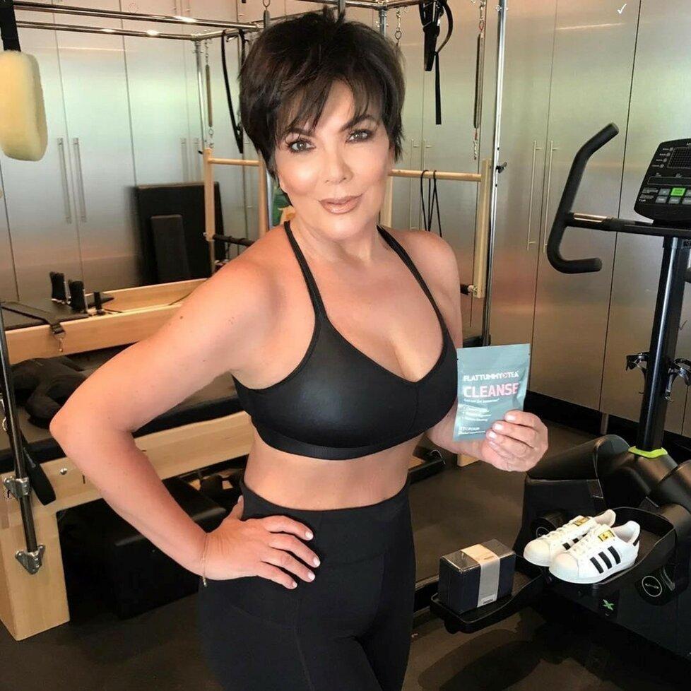 Kris Jenner vypadá opradu fantasticky