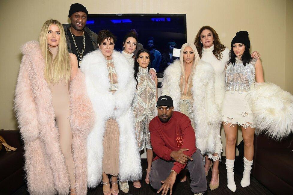 Celý klan Kardashian/Jenner