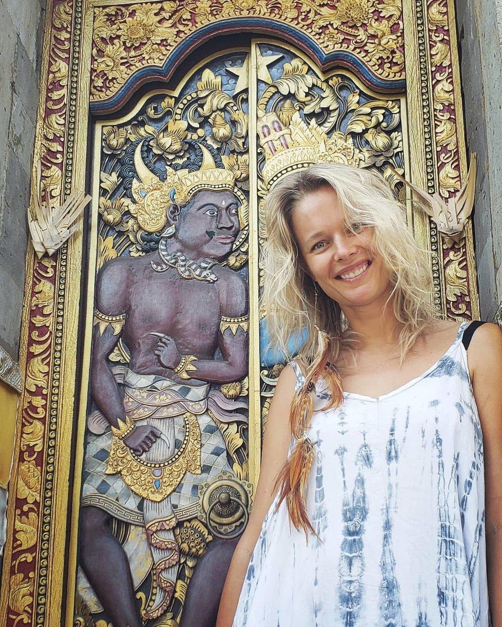 Helena Houdová se na Bali našla