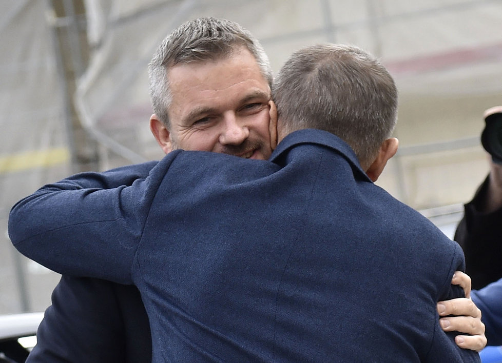 Premiéři Andrej Babiš a Peter Pellegrini ve Valticích