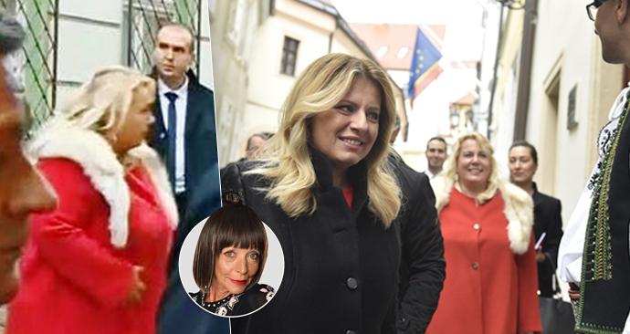 Ministryně Dostálová způsobila červeným sakem s bílou liškou poprask. Co na to Františka?