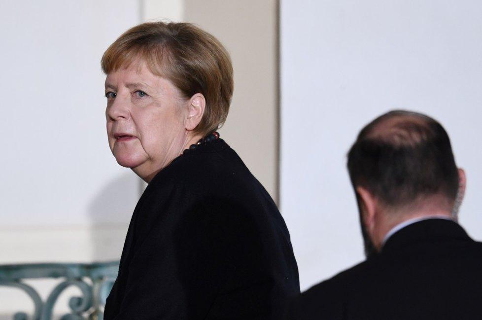 Německá kancléřka Angela Merkelová (18. 11. 2019)