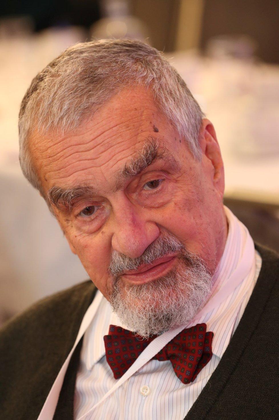 Karel Schwarzenberg jako čestný předseda TOP 09