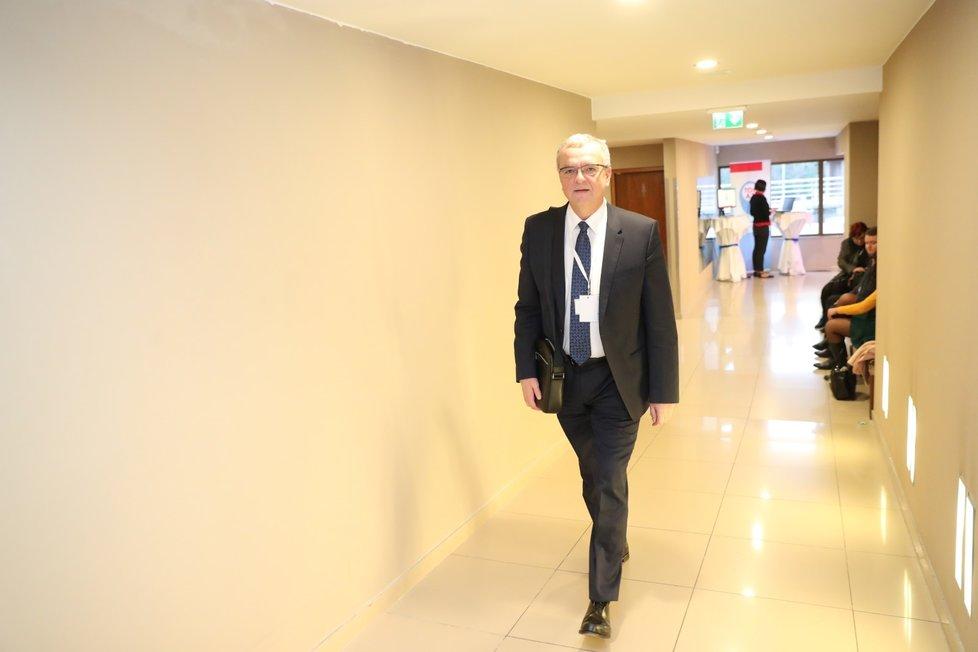 Zakladatel TOP 09 Miroslav Kalousek na 6. volebním sněmu TOP 09 v Praze