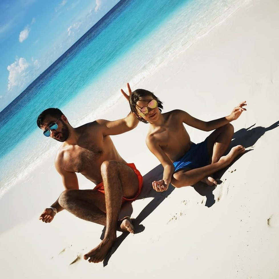 Marek Ztracený zažil na Maledivách setkání se žralokem.