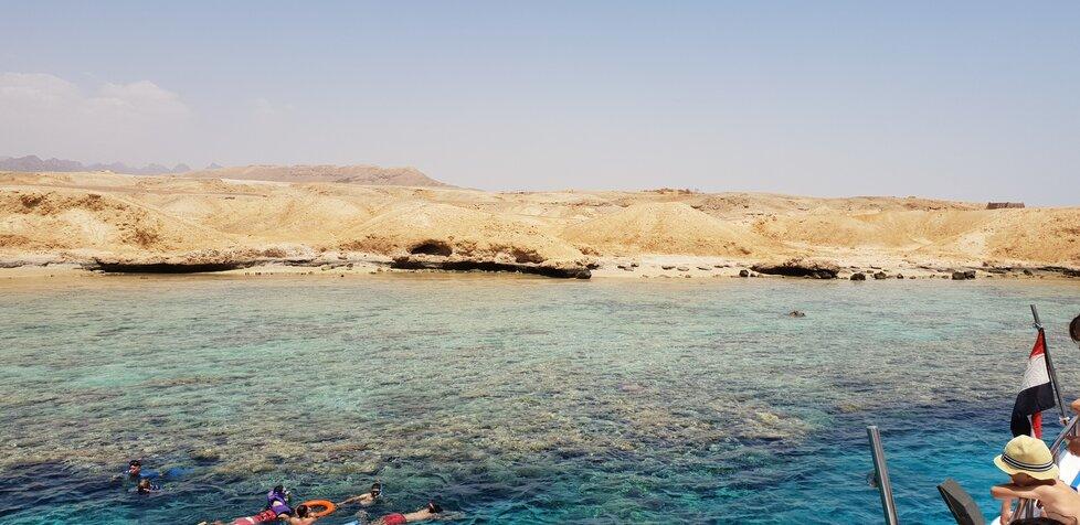 Sinajský poloostrov.