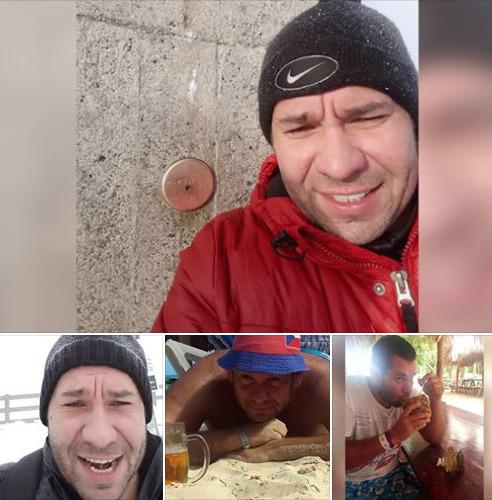 Fotky z Facebooku Ctirada V. (†42) , který v úterý 10. prosince 2019 postřílel ve FN Ostrava šest lidí v čekárně ambulance.