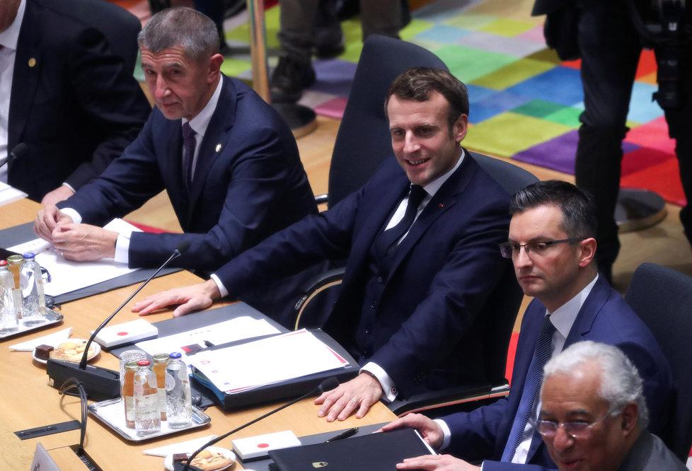 """""""Můžeme Babiše přesvědčit,"""" věří Macron. Babiš v Bruselu zaryl kvůli jádru do Rakušanů"""