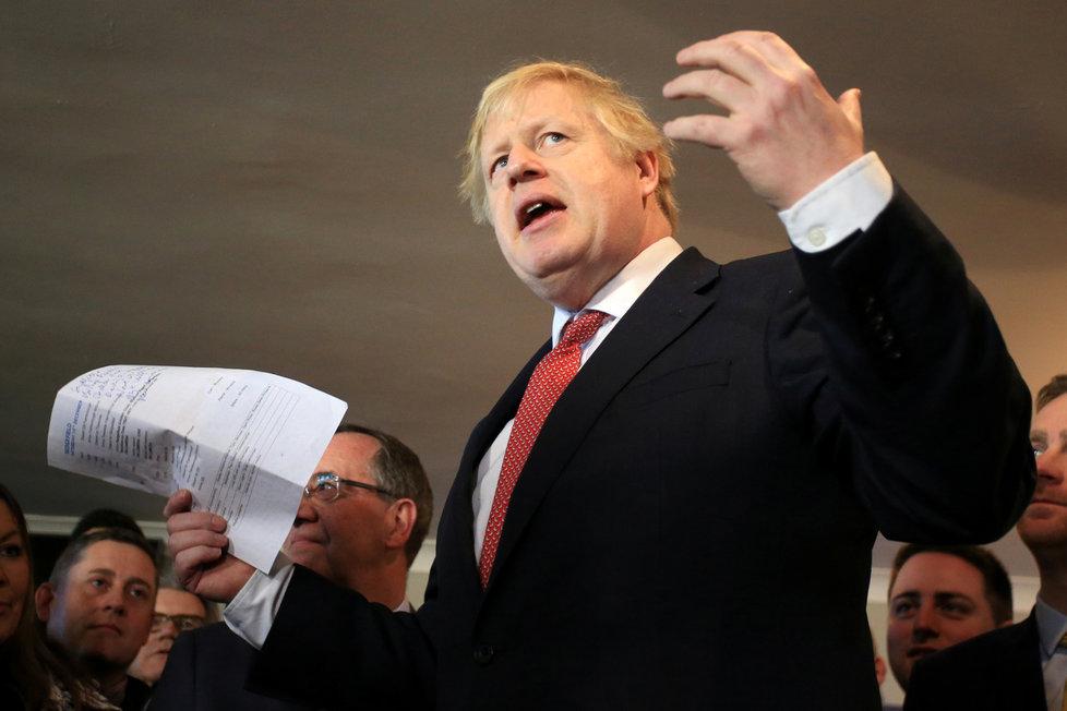 Britský premiér Boris Johnson vyjádřil politování nad těmi, kteří byli postiženi epidemií koronaviru v Číně.