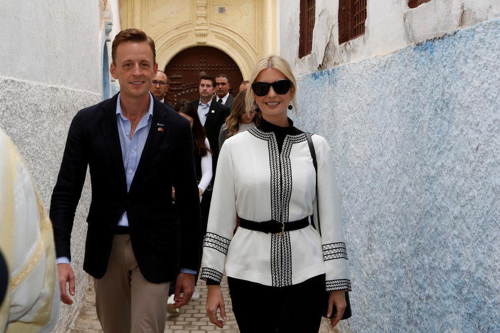 Poradkyně Bílého domu a první dcera USA Ivanka Trumpová