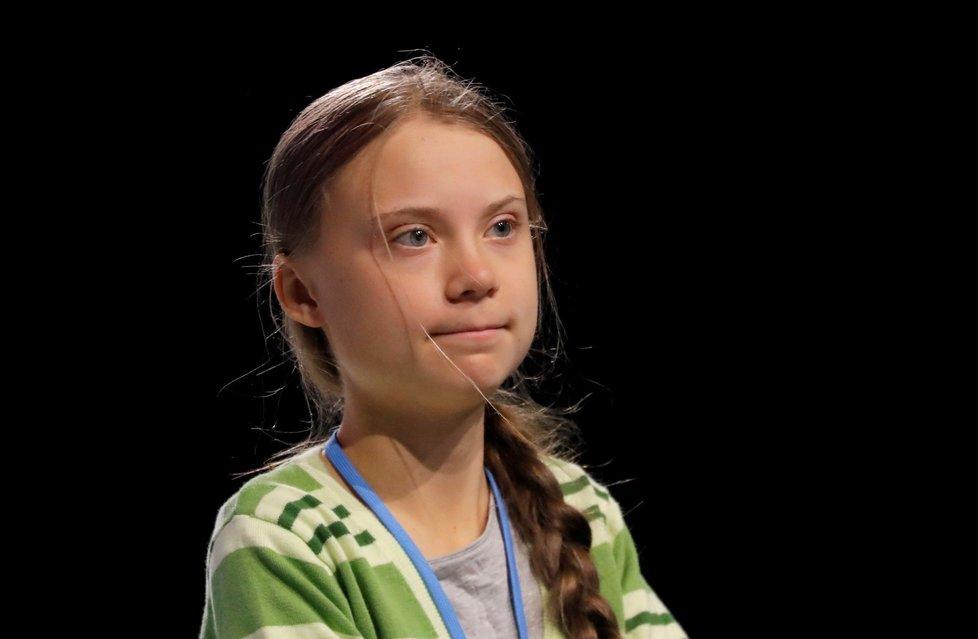 Švédská klimatická aktivistka Greta Thunbergová (16)