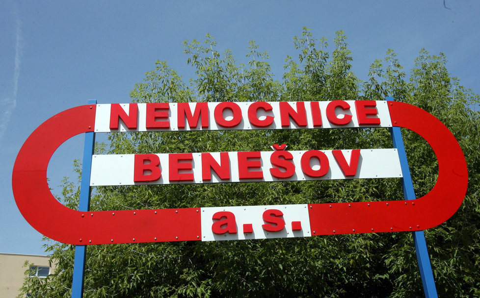 Nemocnice v Benešově, kterou napadli hackeři.