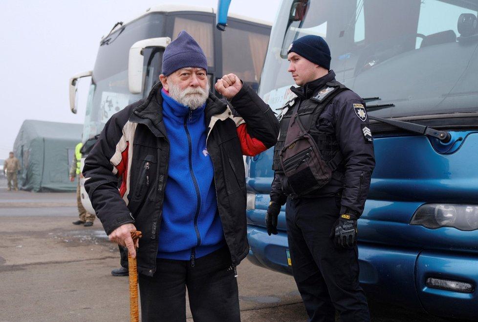 Výměna zajatců mezi Ukrajinou a proruskými separatisty (29. 12. 2019)
