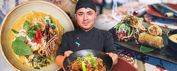 Už rok vaří Nepálec Shajan vprestižní asijské restauraci Sia vcentru Prahy.