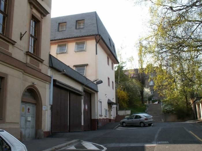 Vazební věznice v Teplicích, kde si David Rath odpykává trest.