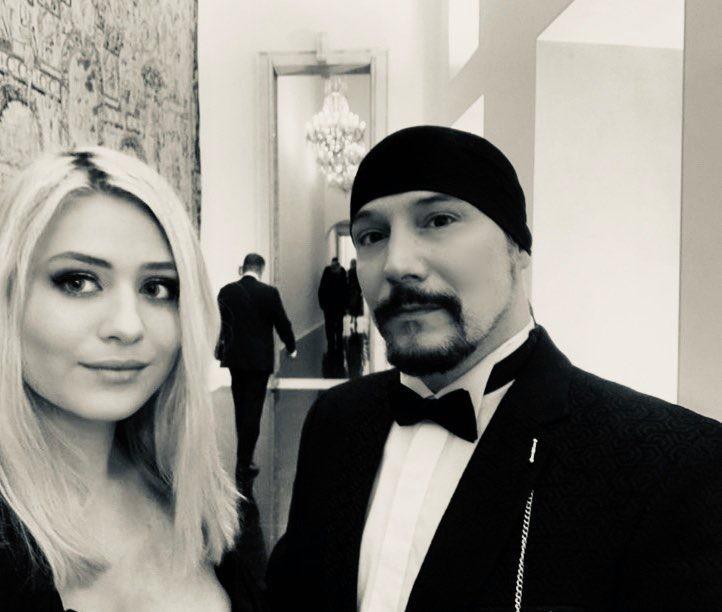 Bohuš a jeho Mazlivka na plese na Pražském hradě