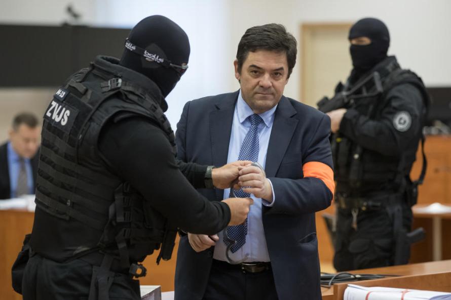 Marian Kočner u soudu 15. ledna 2020