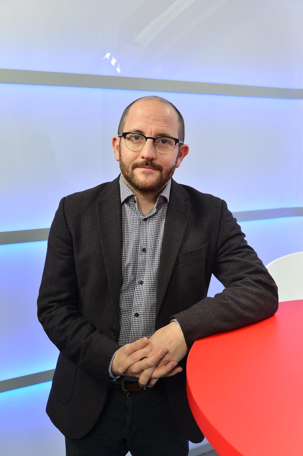 Sociolog Daniel Prokop byl hostem pořadu Epicentrum