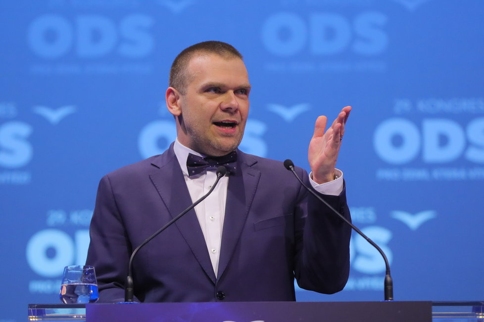 29. kongres ODS: Martin Baxa (18.1.2020)