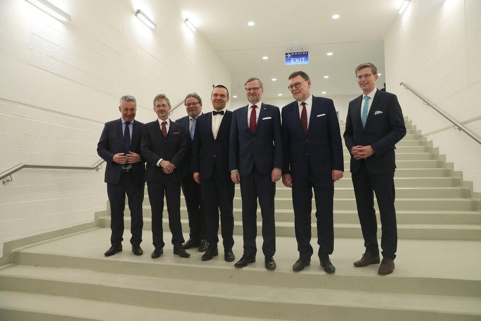 29. kongres ODS: Kompletní nové vedení strany na tiskové konferenci (18.1.2020)