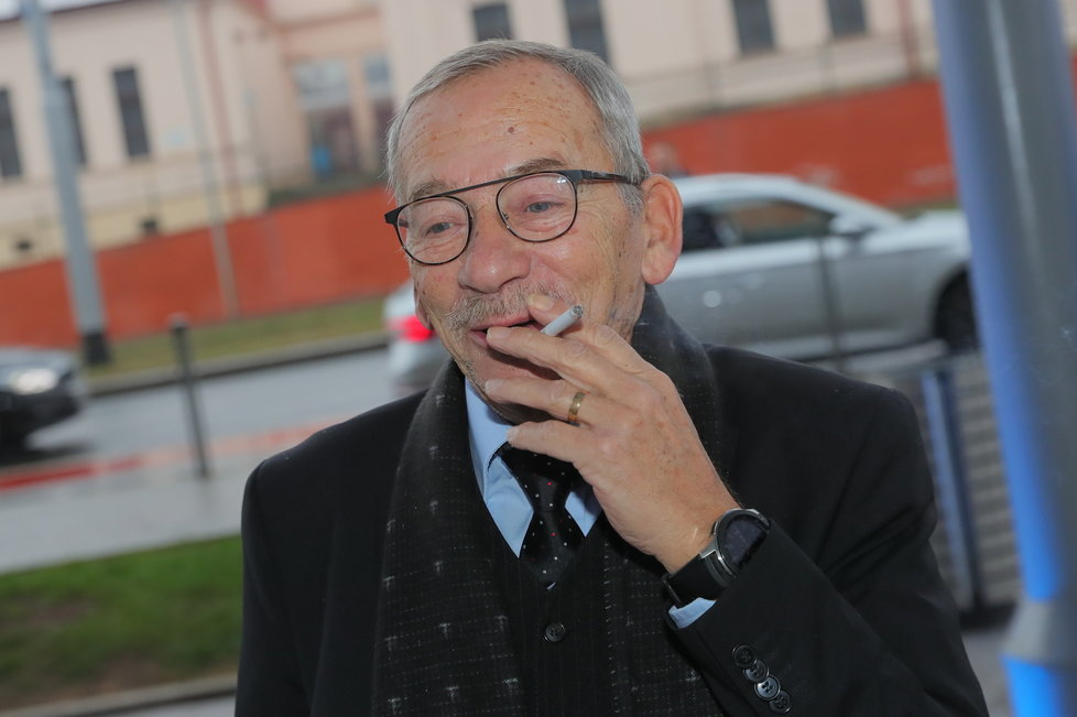 Šéf Senátu Jaroslav Kubera na kongresu ODS v sobotu 18. ledna 2020. V pondělí 20. ledna náhle zemřel