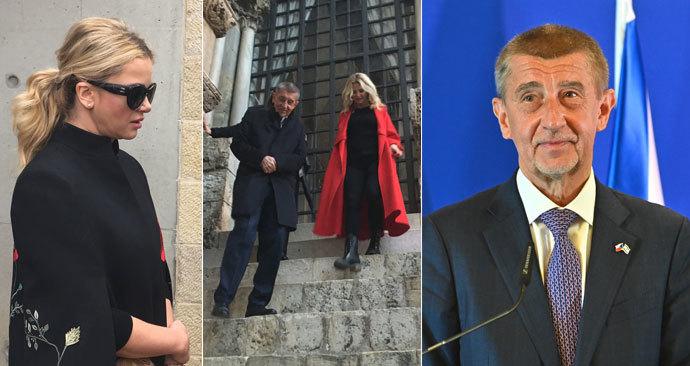 Andrej Babiš navštívil Izrael i v únoru 2019, tehdy do Jeruzaléma letěl i s manželkou Monikou.