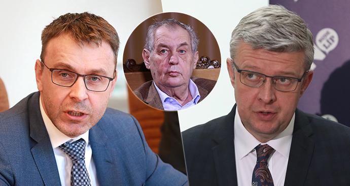 Zeman odvolal Kremlíka, řízením dopravy pověřil Havlíčka