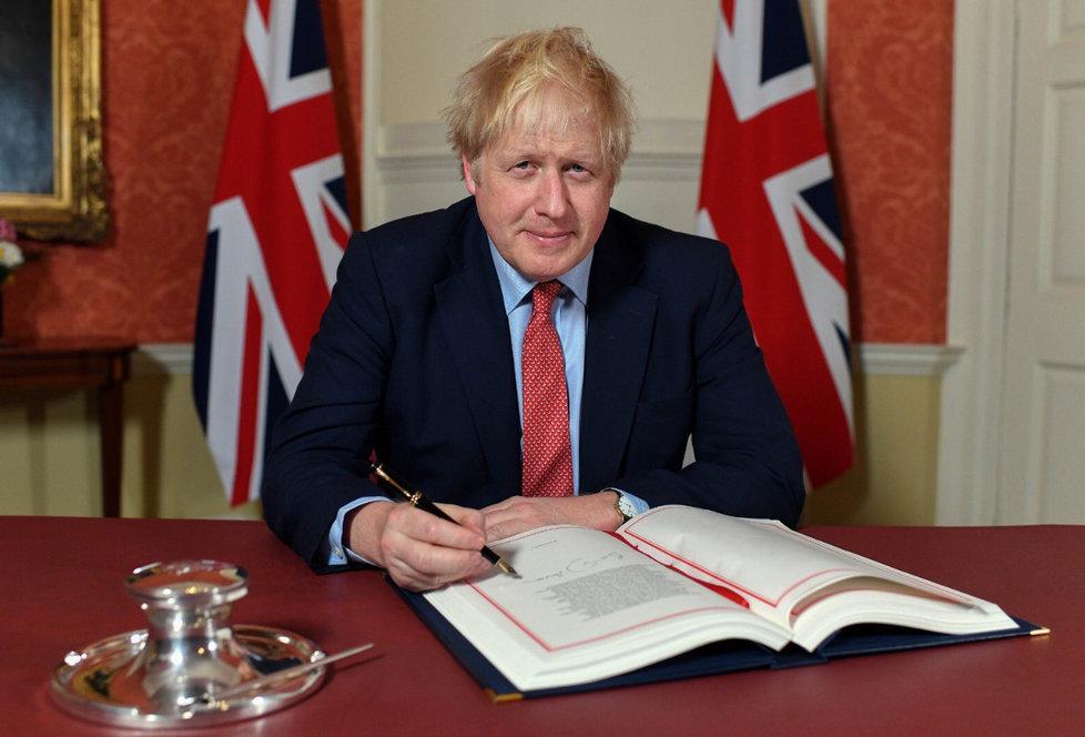 Britský premiér Boris Johnson a lídři EU podepsali brexitovou dohodu.