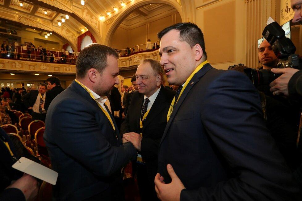 Zdechovský na sjezdu KDU-ČSL (25.1.2020)