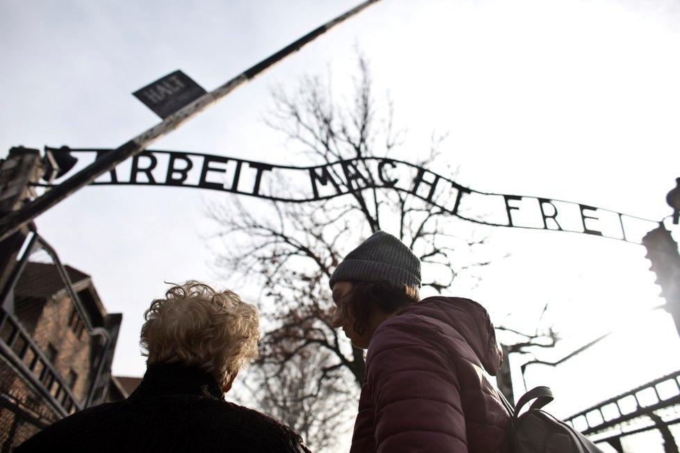 75. výročí osvobození Koncentračního tábora Osvětim