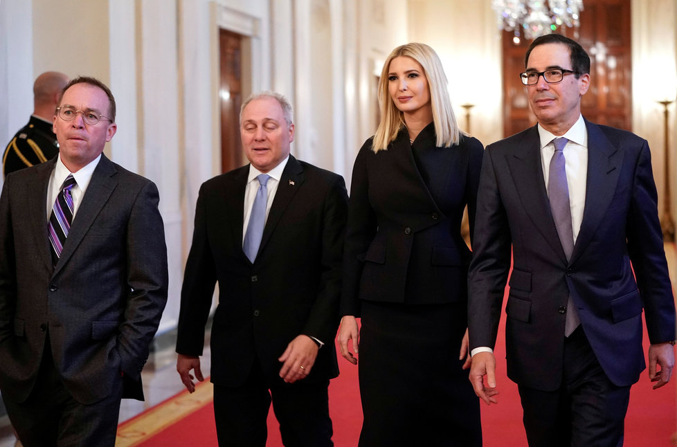 U jednání o blízkovýchodních plánech prezidenta Trumpa nechyběla ani jeho dcera Ivanka.