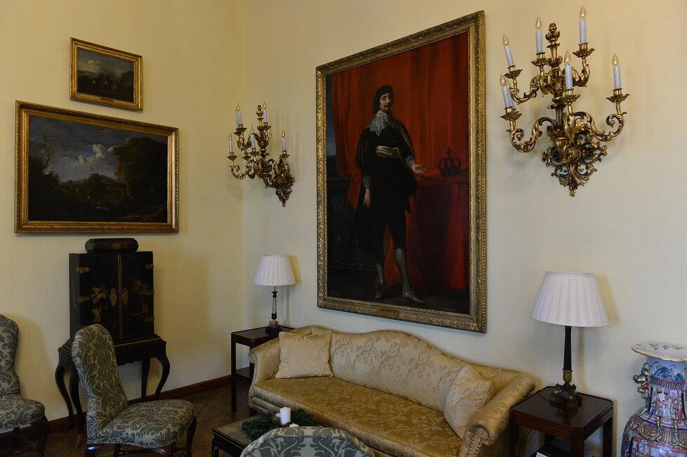 Jeden z nejznámějších portrétů Fridricha Falckého, který na Pražském hradě vládl jeden rok. Proto se mu také trošku nechvalně přezdívá Zimní král.