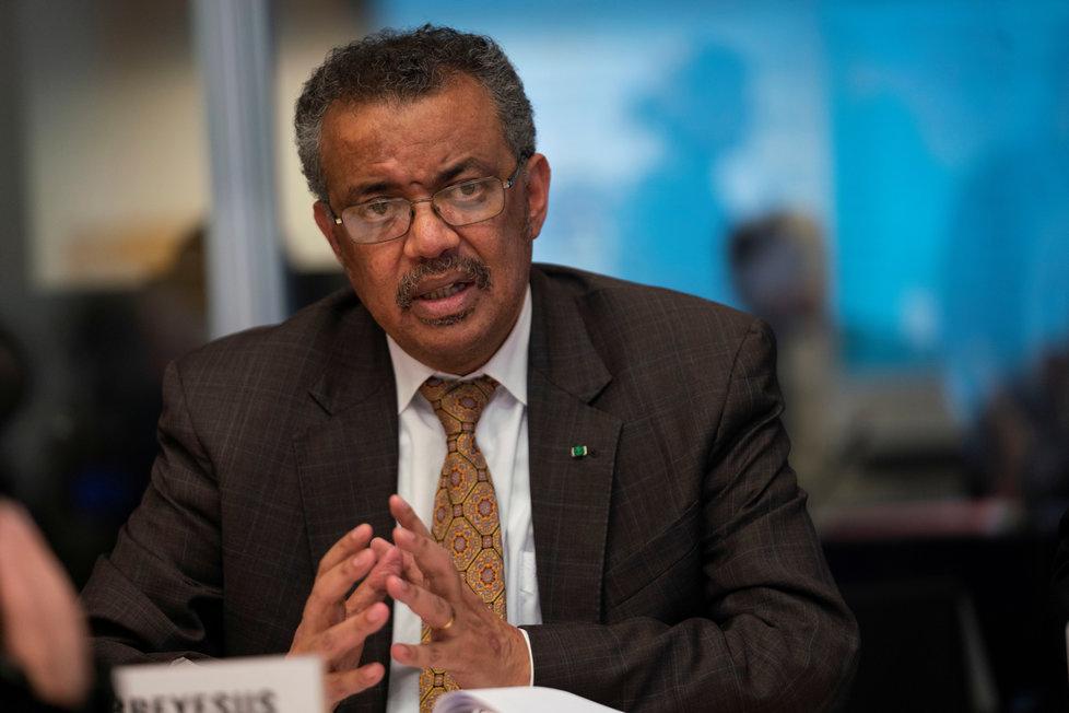 Generální ředitel WHO Tedros Adhanom Ghebreyesus vysvětloval, proč Světová zdravotnická organizace vyhlásila globální stav nouze kvůli koronaviru (30.1.2020)