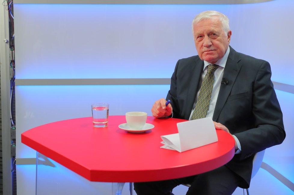 Bývalý prezident Václav Klaus v pořadu Epicentrum (10. 2. 2020)