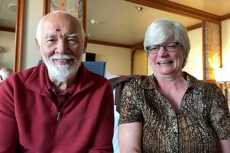 Polský manželský pár Cheryl a Paul Molesky se spojil s médii prostřednictvím Skype