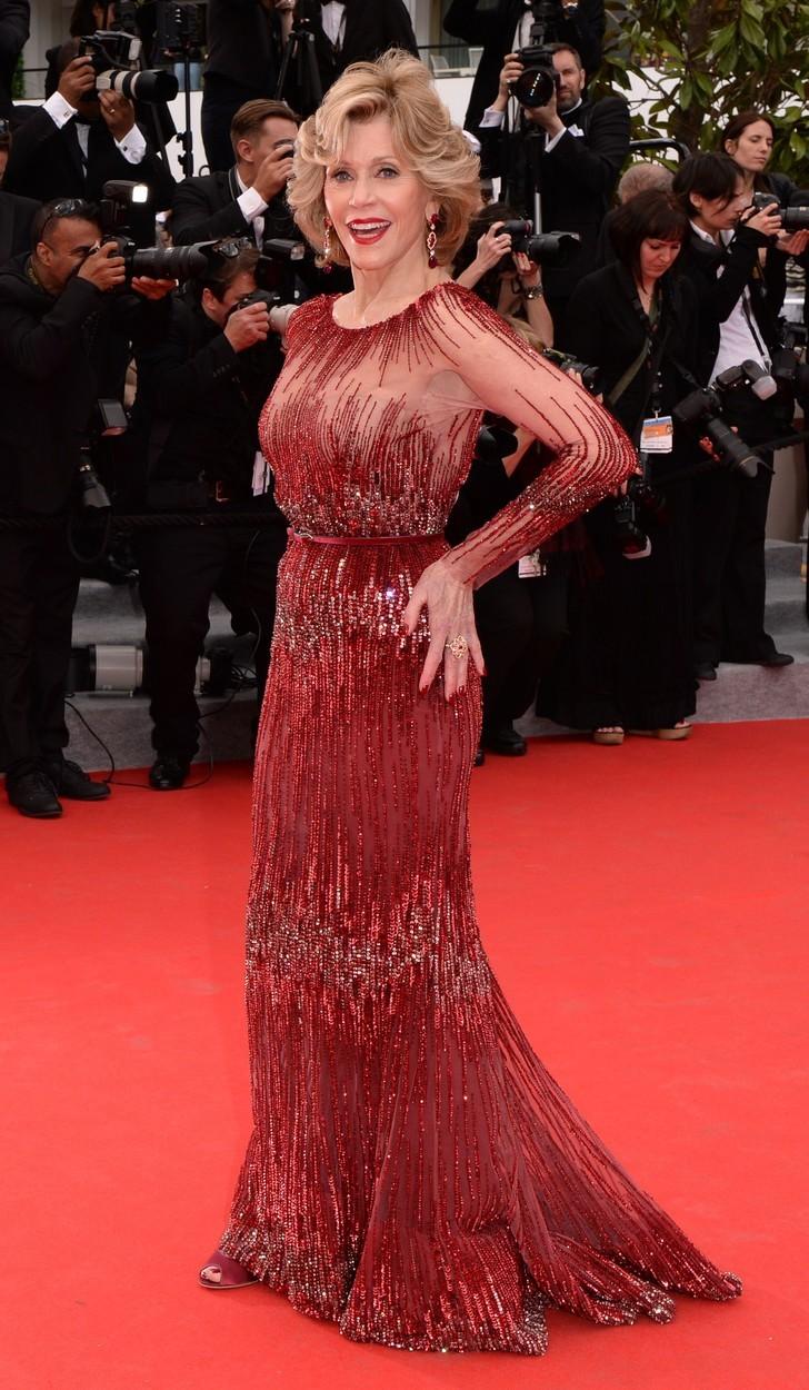 2014 - Na filmové premiéře v Cannes.
