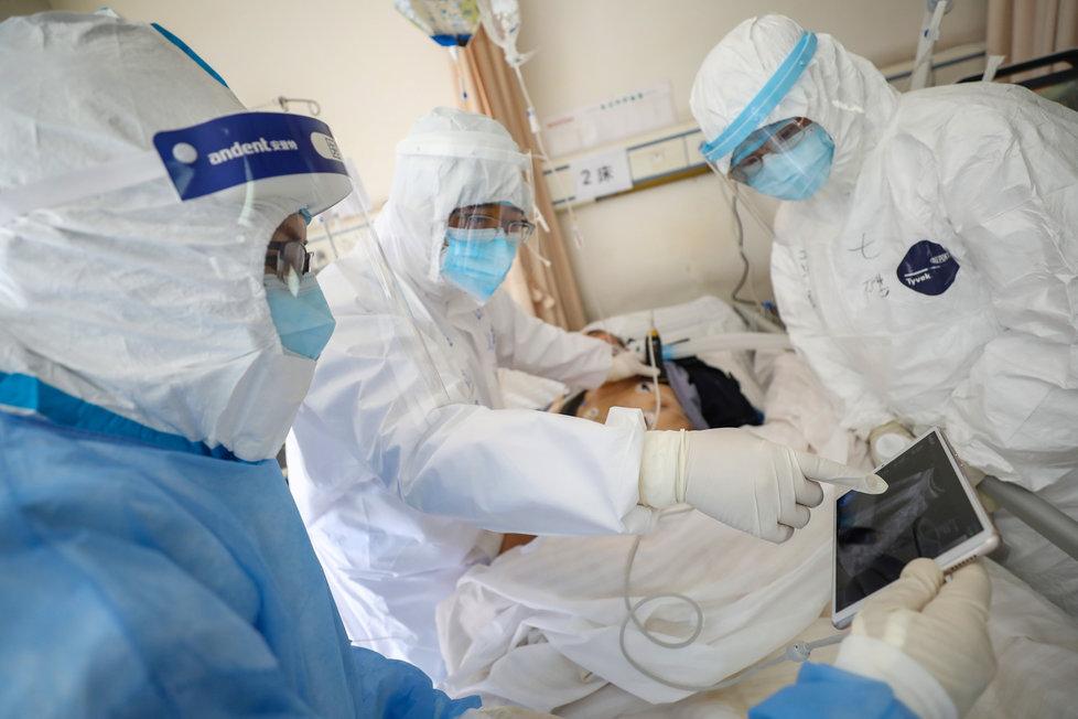 Čína se dál potýká s nákazou koronaviru (17.2.2020)